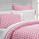 Poolside Palms Duvet Cover, Twin, Bright Pink