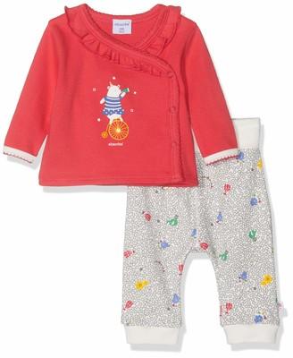Absorba Baby Girls' 7p36041-ra Ens Cache Coeur Clothing Set