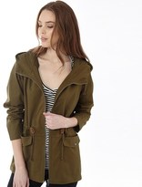 Jacqueline De Yong Womens Short Jacket Dark Olive