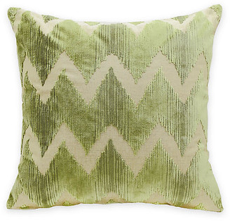 The Piper Collection Mary 22x22 Pillow - Green Velvet