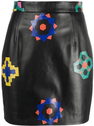 Kirin Geometric Floral Skirt