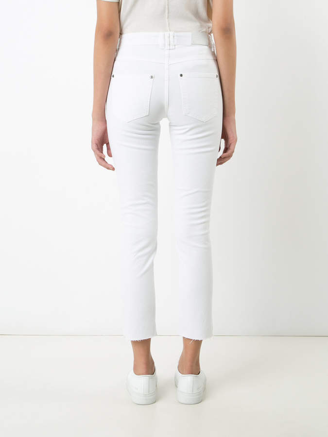 Anine Bing cropped jeans