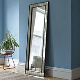 west elm Antique Tiled Floor Mirror