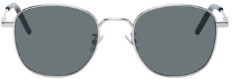Saint Laurent Silver New Wave SL 299 Sunglasses