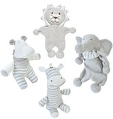 Under the Nile Infant 4-Piece Safari Stuffed Animal Set