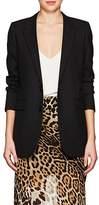Saint Laurent Women's Wool Gabardine Two-Button Blazer