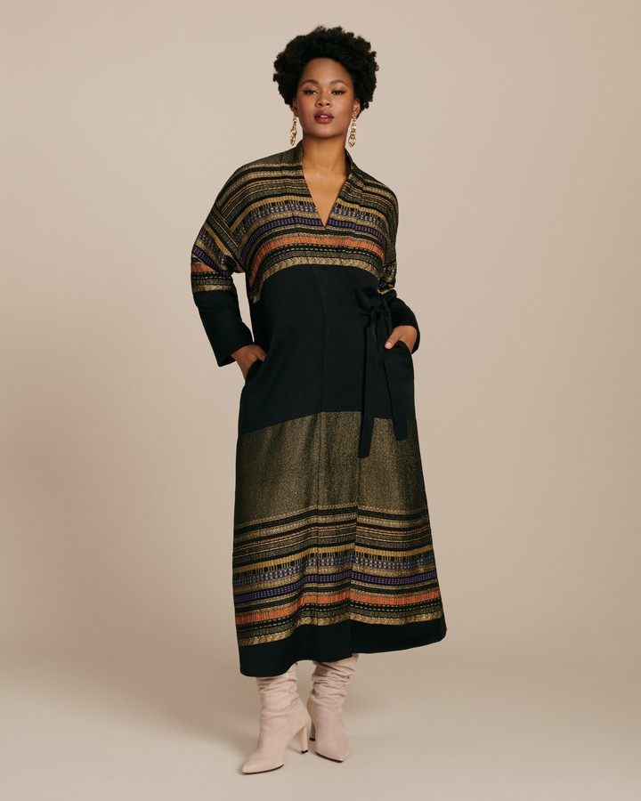 Zero Maria Cornejo Tasmeen Wrap Coat