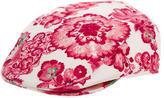 Burberry Floral Newboy Hat