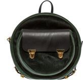 Alisa Smirnova Moss Green Backpack