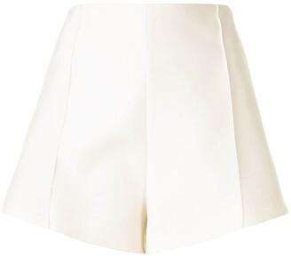 macgraw Poet high-rise satin shorts