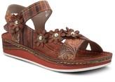 Spring Step L'Artiste By Adjustable Leather Sandals - Mahvash