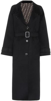 Fendi Reversible wool coat