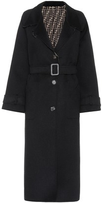 Fendi Reversible wool coat