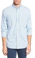 Nordstrom Men's Slim Fit Washed Check Sport Shirt