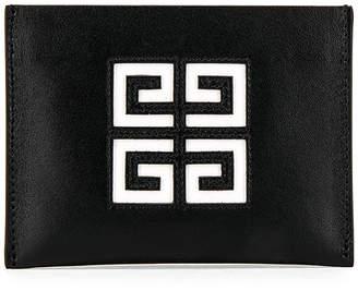 Givenchy 4G Cardholder in Black & White | FWRD