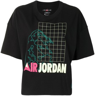 Nike Air Jordan cotton T-shirt