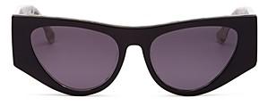 Le Specs Luxe Women's Plankton Cat Eye Sunglasses, 54MM