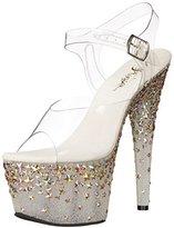 Pleaser USA Women's STPLASH708/C/FT Platform Dress Sandal