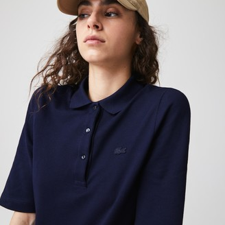 Lacoste Women's Slim Fit Supple Cotton Polo