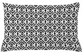 "Tribal Indoor / Outdoor Ikat Lumbar Pillow Cover East Urban Home Size: 16"" x 26"""