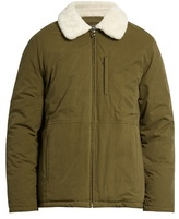 A.p.c. Ottawa Water-resistant Faux-fur Collar Jacket