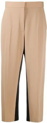 Stella McCartney Cropped Side Panel Trousers