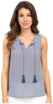 Tommy Bahama Fan Festival Smocked Tank Top