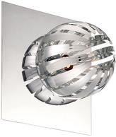Eurofase Cosmo Collection 1-Light Chrome Wall Sconce