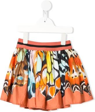 Molo Kids Brenda Alies De Papillon print skirt