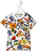 Kenzo printed T-shirt - kids - Cotton - 6 mth