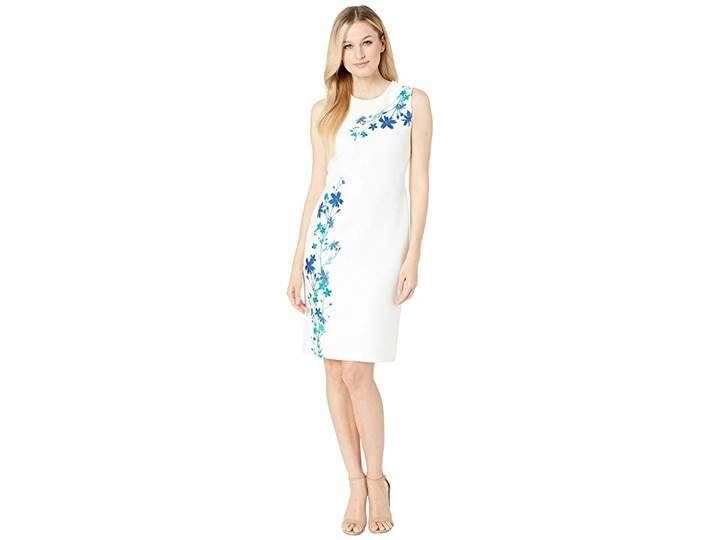 f005828dd05c Calvin Klein Stretch Sheath Dresses - ShopStyle