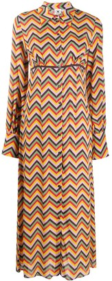 M Missoni Zigzag Print Shirtdress