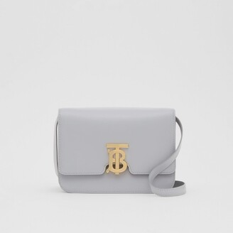 Burberry Small Leather TB Bag