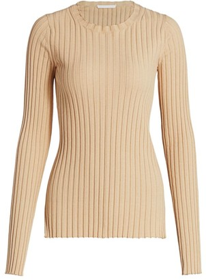 Helmut Lang Ribbed Crewneck Sweater