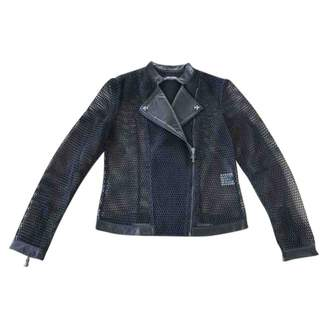 Chrome Hearts Black Leather Jacket for Women