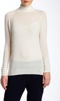 Vince Wool Blend Superwash Turtleneck Sweater