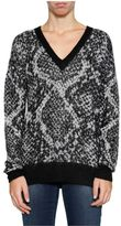 MICHAEL Michael Kors Snake Print Sweatshirt