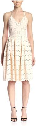 Aijek Women's Lovers Embroidery Dress