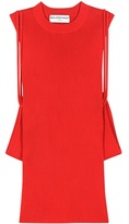Balenciaga Knitted Sleeveless Top