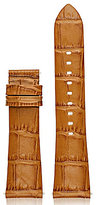 Michael Kors Access Bradshaw Crocodile-Embossed Leather Strap