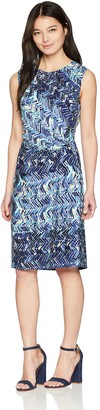 Nic+Zoe Women's Petites Seaside Tile Dress