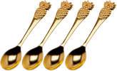 Godinger Pineapple Dessert Spoons (Set of 4)