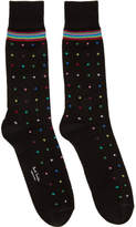 Paul Smith Black Pin Dot Socks