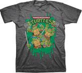 Novelty T-Shirts Teenage Mutant Ninja Turtles Slime Short-Sleeve Tee