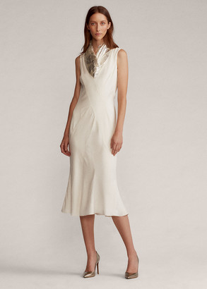 Ralph Lauren Sefina Crepe Cocktail Dress