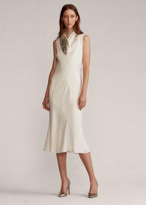 Ralph Lauren Sefina Crepe Cocktail Dress
