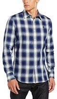 G Star Men's Rivo Core Longsleeve Button-Up Shirt In Victor Twill Check
