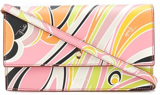 Emilio Pucci Dinamica print wallet bag