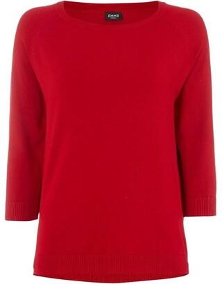 Emme Nic long sleeve crew neck sweater