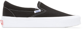 Vans Black OG Classic Slip-On Sneakers